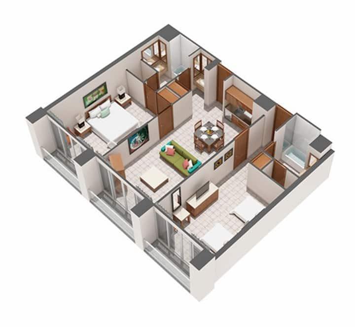AC Mayan Palace 2BD-Suite