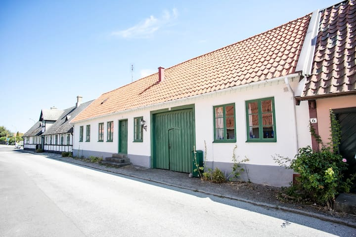 Litet gatuhus i Falsterbo