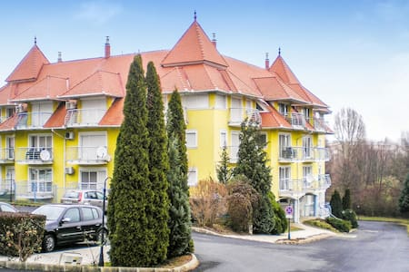 Holiday apartment with 1 bedroom on 37m² in Hévíz