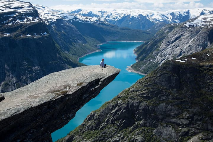 Trolltunga Bed and Bathroom - Odda - Huis
