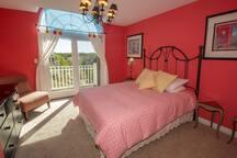 Bedroom 2, Queen w/ a Beachwalk Resort View on Second Level