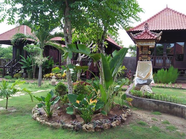Beauty Garden View Villas @ Taman Sari Lembongan - Nusapenida - ที่พักพร้อมอาหารเช้า