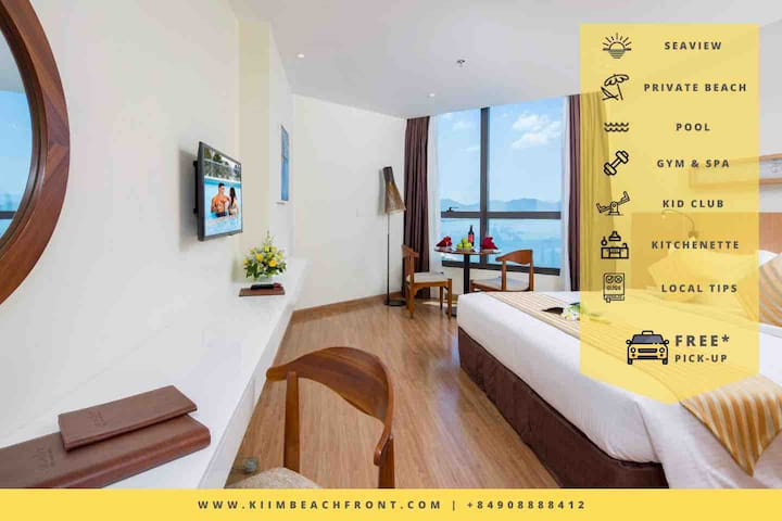 Mermaids.vn | 4* Sea View Studio w/ Private Beach