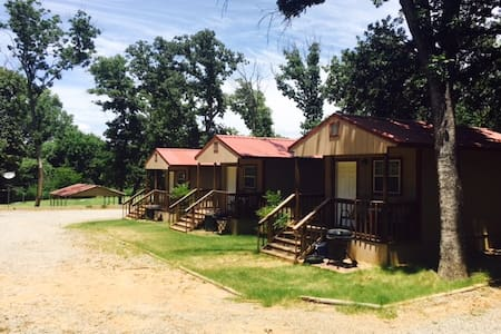 Angler's Hideaway Cabins on Lake Texoma Cabin 1 - Mead - Cabin