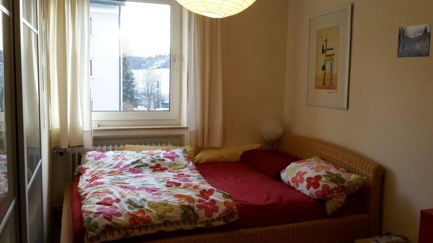 Gemütliches und gut gelegenes Zimmer