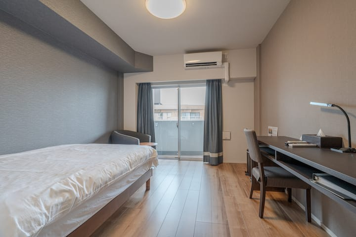 (A703) Feel at Home, 3 Min Walk from Station