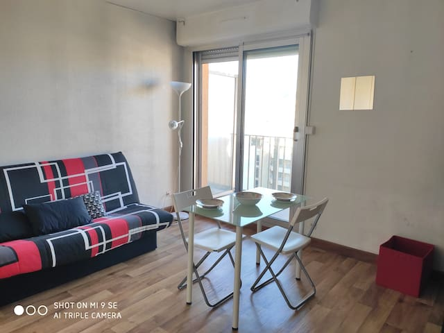 Logement entier avec terrasse au centre Marseille