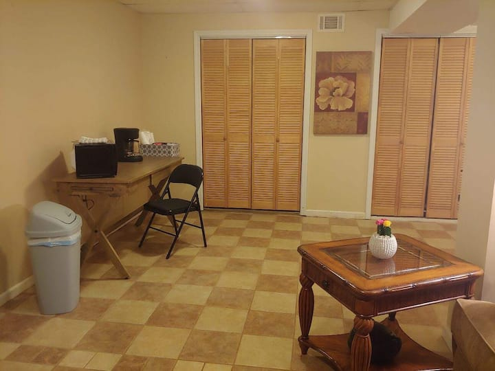 Large, Private Suite with private entrance!