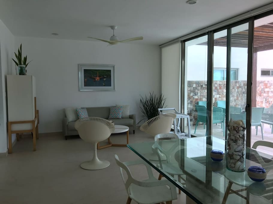 Terrace & Living Room