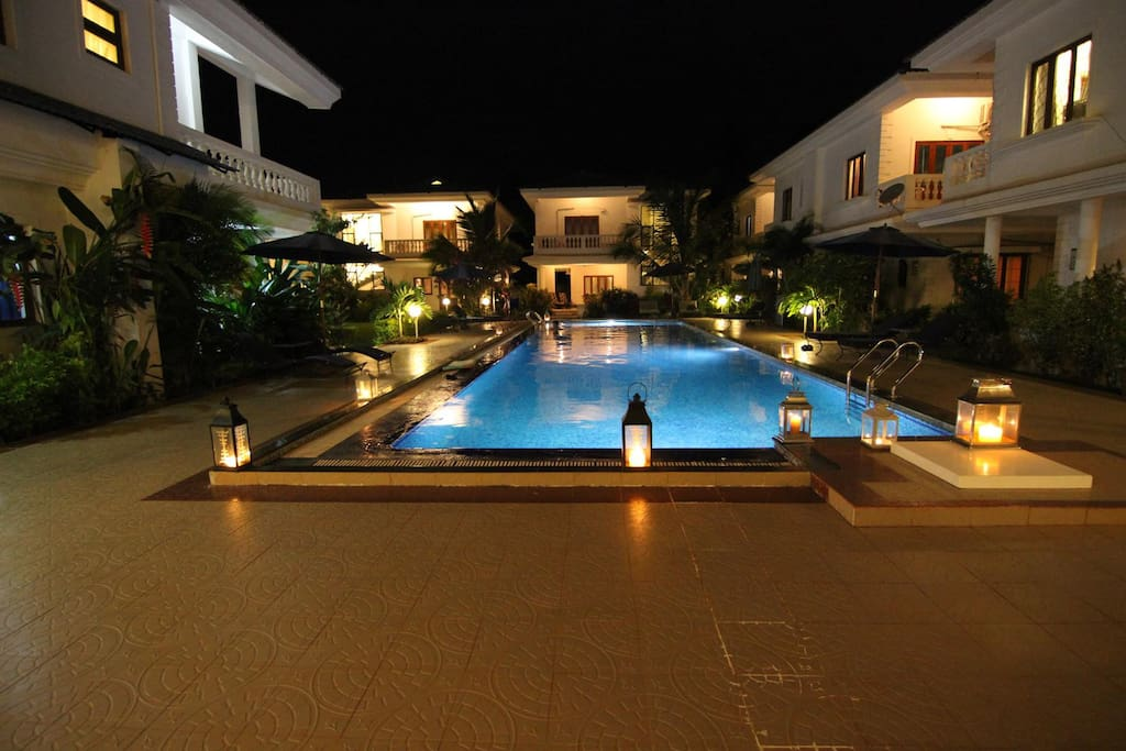Pool and Villas