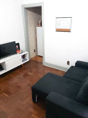 Apartamento aconchegante na Famosa Av. São João