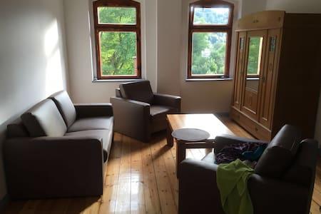 Tolle Wohnung in stillgelegtem Bahnhof - Gräfenthal - Appartement
