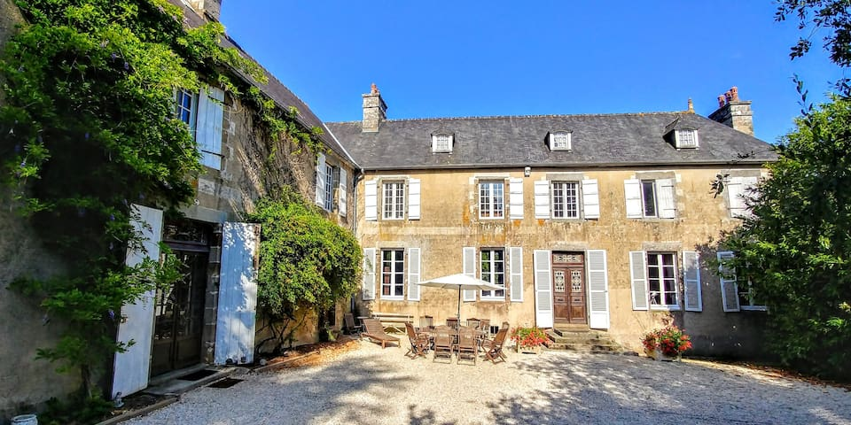 Large Elegant Manor House Normandy near MtStMichel