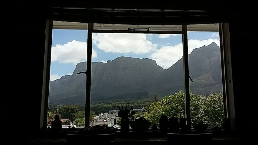Stunning mountain view from bed! - Cape Town - Flat