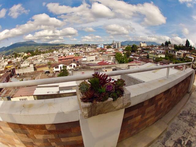 Vista Quetzaltenango lado Oeste