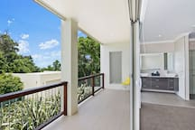 Ensuite and balcony