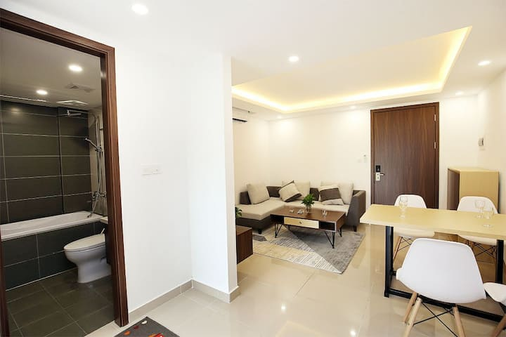 One bedroom near Nguyen Truong To, Truc Bach lake
