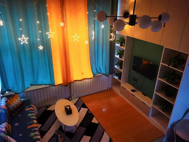 【暖·居】现代简约时尚loft公寓