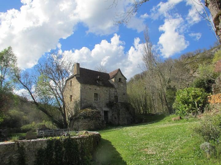 Gîte de charme, moulin, Cajarc