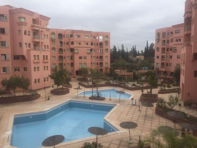 Spacious 3 Bedroom Appartment - 馬拉喀什 - 公寓