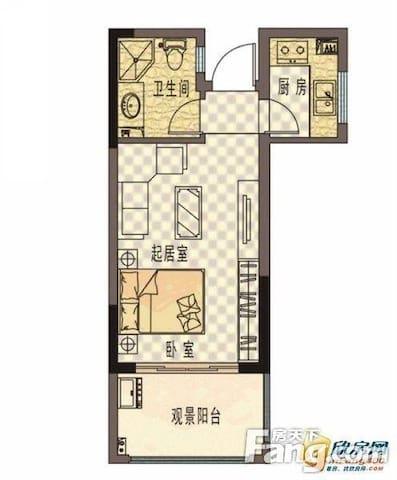 田园风光/精装公寓/近车站/市场