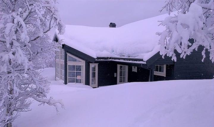 High class mountain house