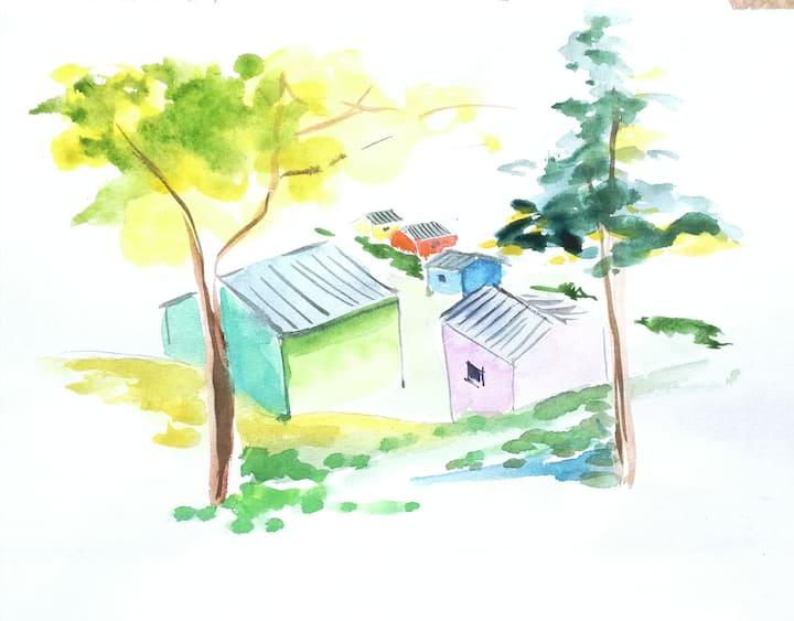 La Tiny Cabane