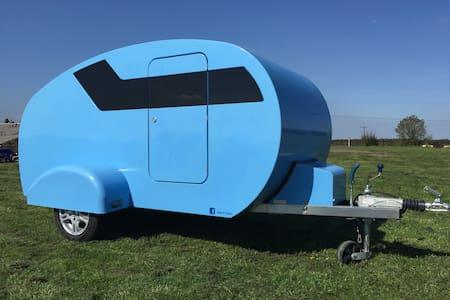 Teardrop Trailer Caravan  Hire - Habitat Trailers