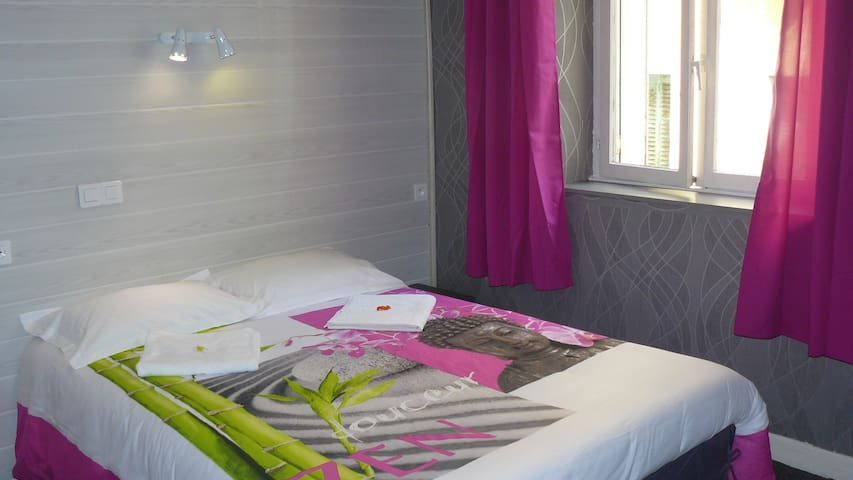 """Chambre """"ZEN"""" tout confort, centre de Lourdes - Lourdes - Townhouse"""