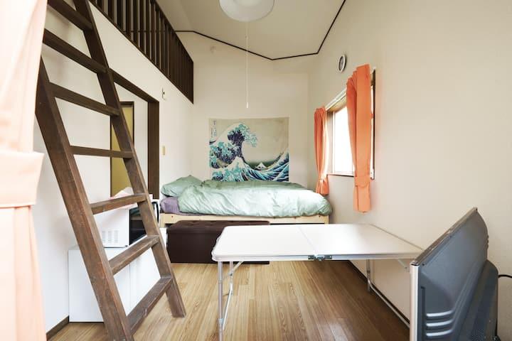 『NewOpen205』☆最大4人まで宿泊可能☆フリーWiFi完備