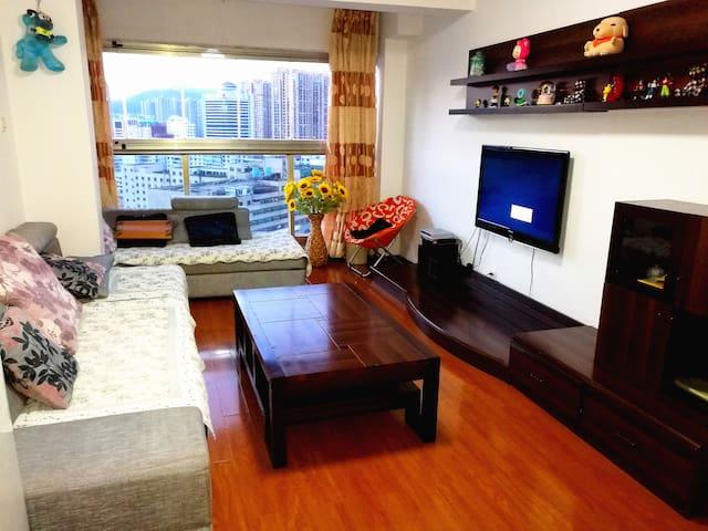 市中心昆明同德广场#地铁站# 精装两室温馨套房 - Kunming - Wohnung