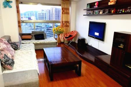 市中心昆明同德广场#地铁站# 精装两室温馨套房 - Kunming - อพาร์ทเมนท์