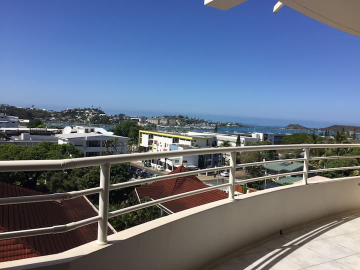 Nouméa with view to the lagoon