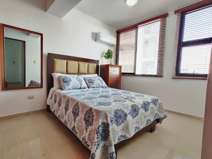 Quiet 2 bedrooms apartment at El Vergel
