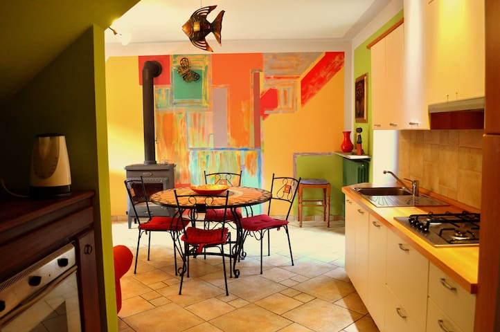Agriturismo La Casa de Colores - Moretta - Casa