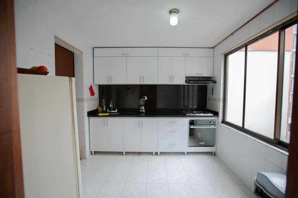 Newly equiped kitchen