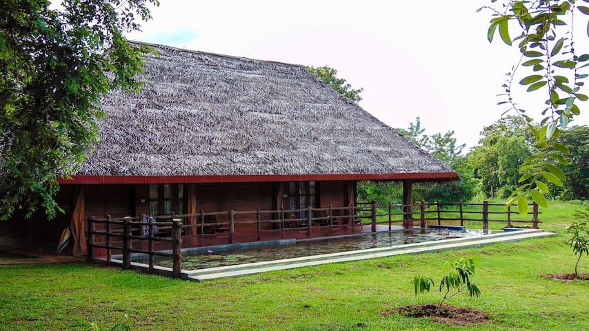 Sigiriya Water Cottage Triple Room with Lake View