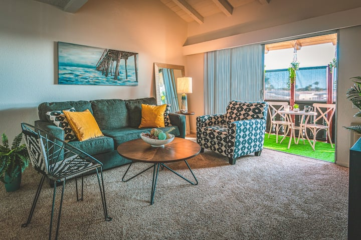 $2445=31 nights /Ocean Zen Chic Retreat Near Beach