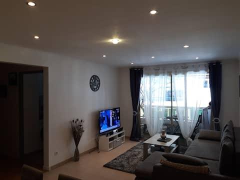 Appartement vence 51 m2 en centre ville.