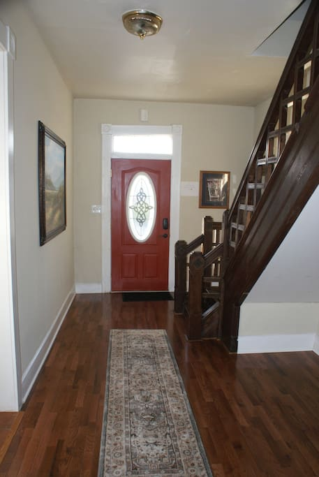Entry and foyer
