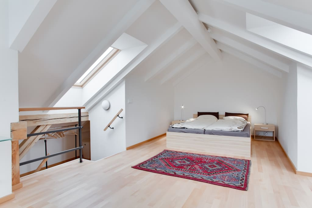 Bed room with double bed - second floor