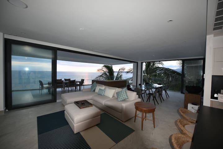 Best apartment in Bucerias. Brand New. Beachfront - Bucerías - Apartamento