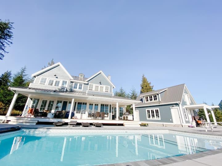 Luxury House with Pool & Incredible Ocean Views