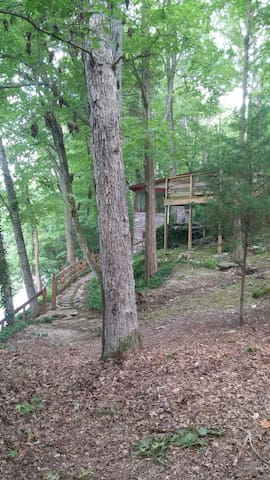 Starwood Riverside Cabin | Mammoth Cave | Corvette - โบว์ลิง กรีน