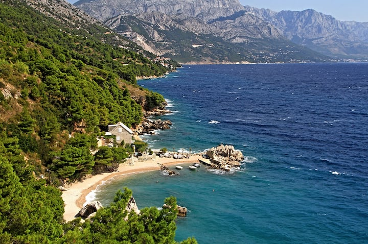 Secluded beach paradise near Split! Croatia's best
