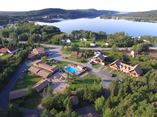 Aerial View - Overlooking the resort