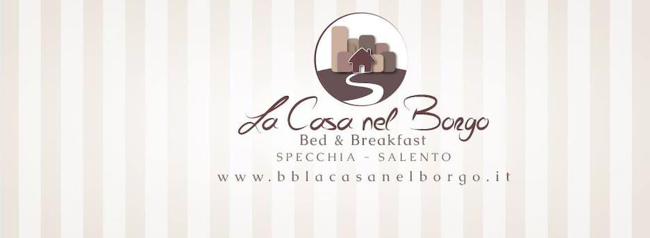 B&B La Casa Nel Borgo - Specchia - Bed & Breakfast
