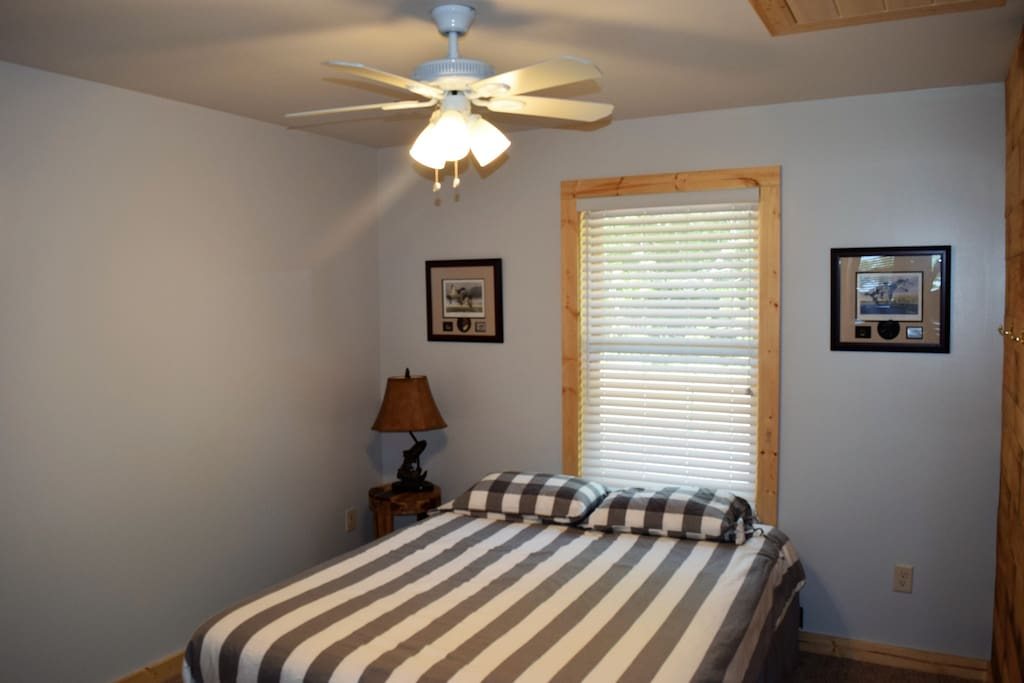 Two Bedrooms, each with a queen size bed.