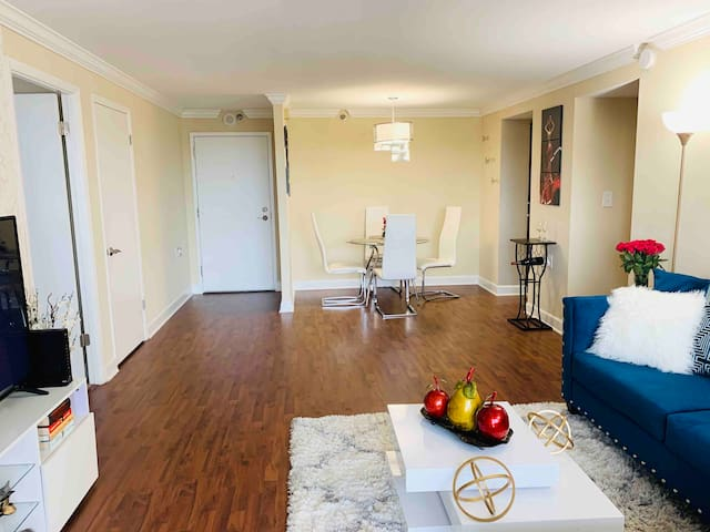 Spacious Condominium in buckhead/free parking