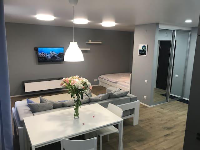 Абсолютно новые апартаменты в самом центре города!